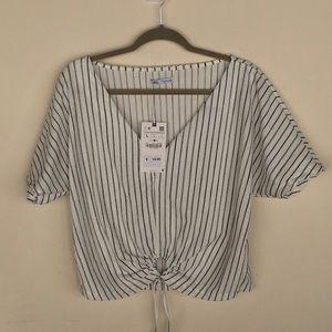 Zara NWT Striped Crop Top - 2 for $20